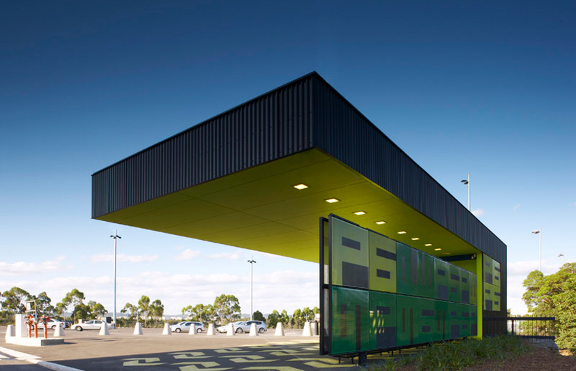 Architecture p6 pay station sydney olympic park for Architectural design review