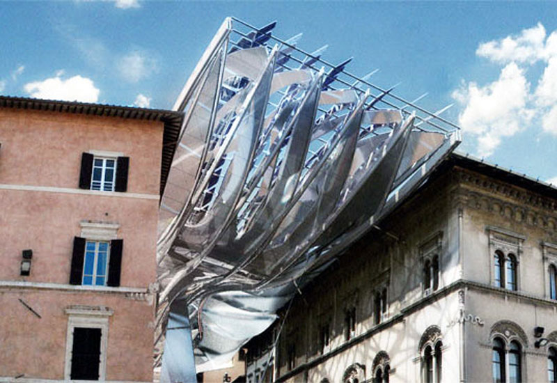 Energy Roof And Architectural Icon Proposed For Perugia